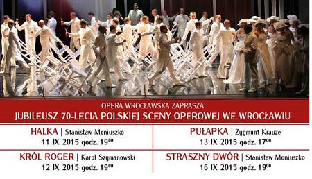 Jubileusz Opery Wrocławskiej