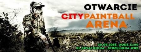 Otwarcie Citypaintball Arena