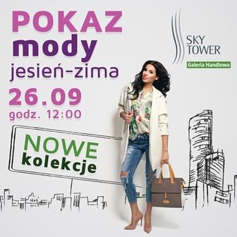 Pokaz mody w Sky Tower