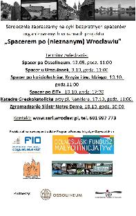 Spacerem po (nieznanym) Wrocławiu:spacer po Ossolineum