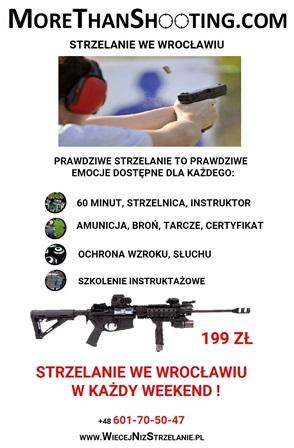 Weekendowe strzelanie z broni palnej