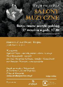 Różne twarze muzyki polskie - Wojnowickie Salony Muzyczne
