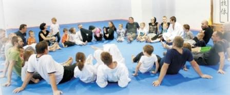 Zajęcia integracyjne dla rodziców z dziećmi - Aikido