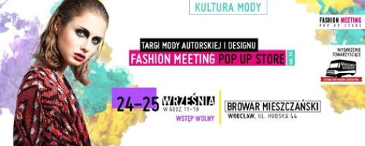 Fashion Meeting POP UP STORE – ed. 14.