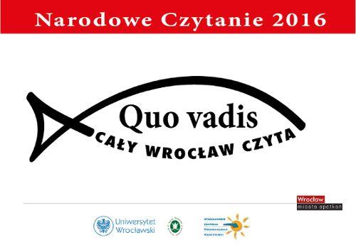 Narodowe czytanie Quo vadis Henryka Sienkiewicza