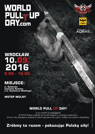 World Pull Up Day 2016 - Światowy Dzień Podciągania 2016