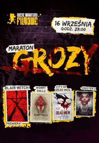 Maraton grozy z premierą Blair Witch