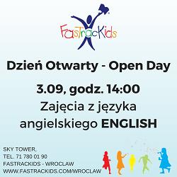 Zajęcia pokazowe - Dzień Otwarty FasTracKids