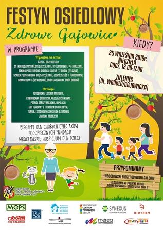 Festyn osiedlowy Zdrowe Gajowice