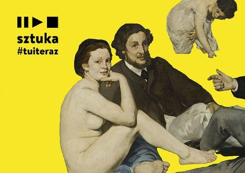 Sztuka #tuiteraz na ul. Kazimierza Wielkiego
