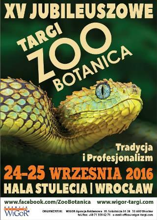 XV Targi ZOO - BOTANICA 2016