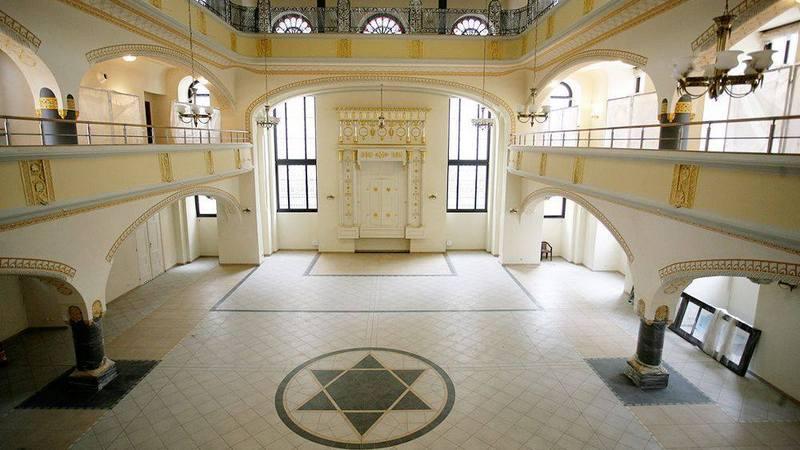 Synagoga pod Białym Bocianem po rewitalizacji