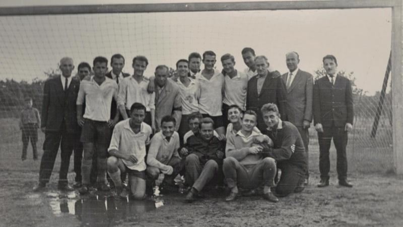 Drużyna piłkarska, 1958 rok. Fot. archiwum KKS Polonia Wrocław