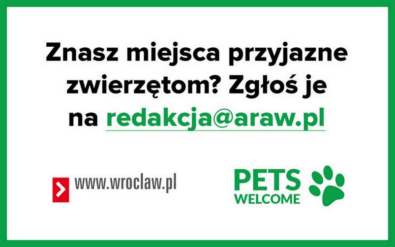 Przyłącz się do programu PETS WELCOME