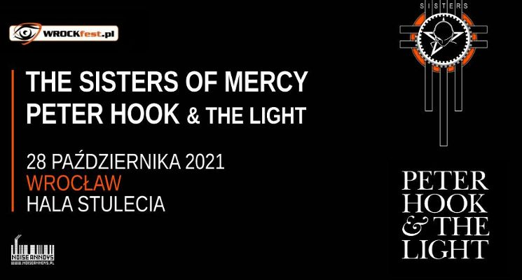 The Sisters Of Mercy oraz Peter Hook – nowy termin