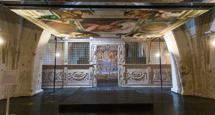 Michelangelo's Sistine Chapel: exhibition