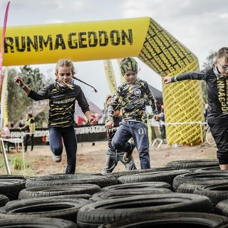 Runmageddon Kids i Junior