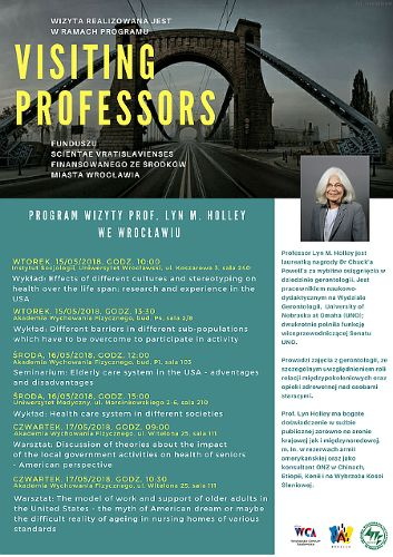 Visiting Professors: prof. Lyn M. Holley