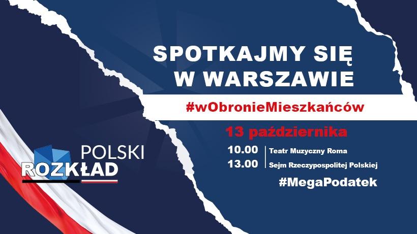 polski rozkład, spotkanie w Warszawie, w obronie mieszkańców