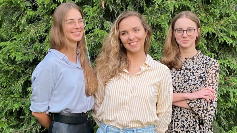 Autorki platformy VolunteerSide: Zofia Kowalik, Maria Krajewska i Julia Kowalik
