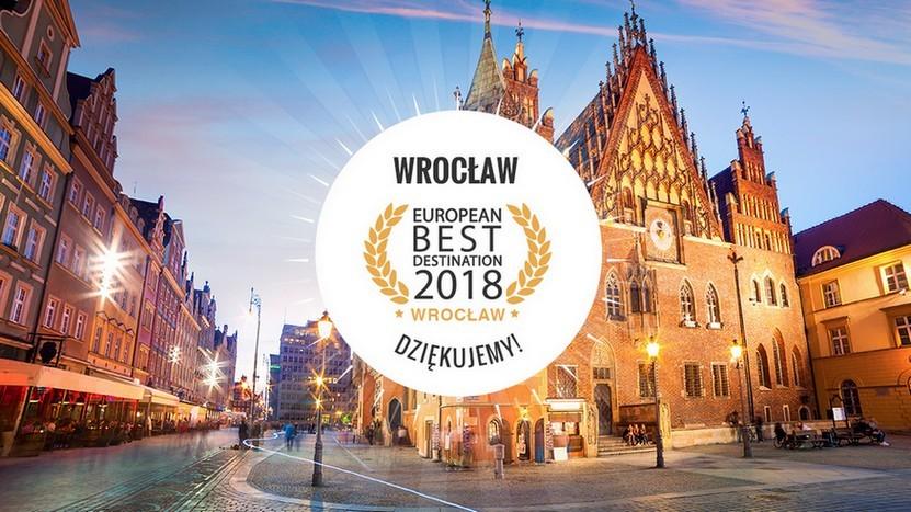 Wrocław z tytułem European Best Destination 2018! | www.wroclaw.pl