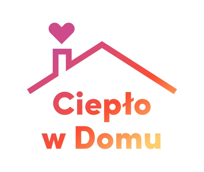 Logo programu Ciepło w domu