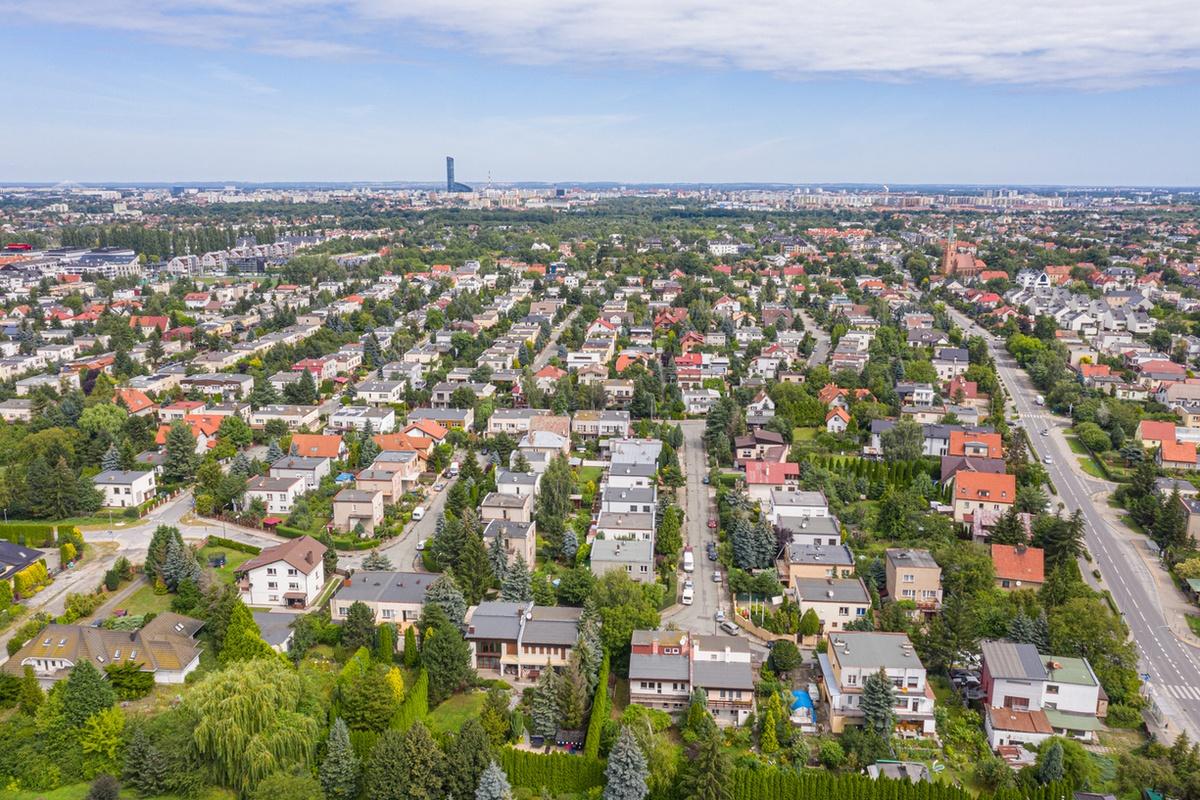 Osiedle domów jednorodzinnych we Wrocławiu, fot. Redakcja www.wroclaw.pl